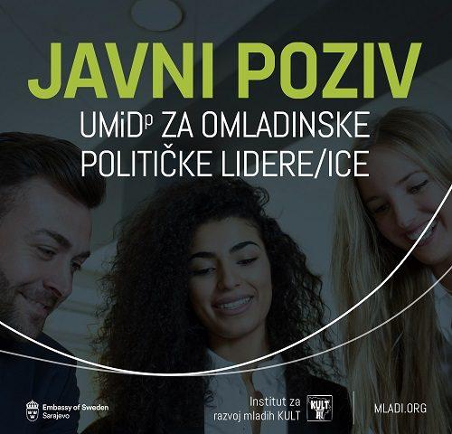Javni Poziv Za Obuku Uči, Misli I Djeluj! Za Omladinske Političke Lidere/ice (UMiDp) Generacija 2.