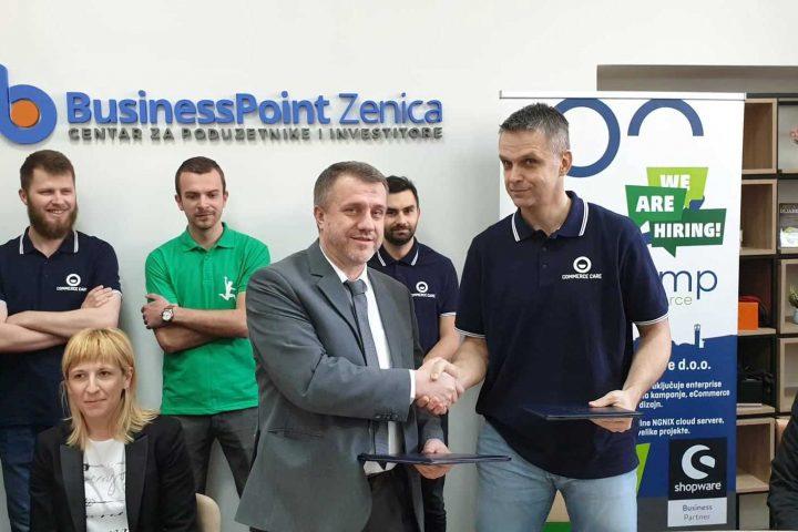 BusinessPoint Zenica Ugostio COMMERCE CARE I UNZE – POTPISAN MEMORANDUM O SARADNJI