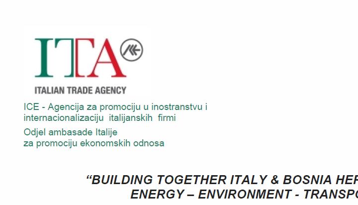 "SEMINAR: ""BUILDING TOGETHER ITALY & BOSNIA HERZEGOVINA"" – 27. Mart 2019"