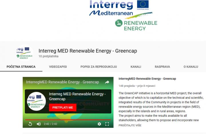 PREDSTAVLJAMO YouTube Kanal Projekta GreenCap