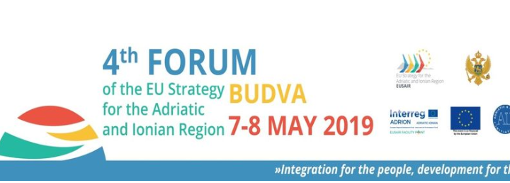 Poziv Za Učešće Na Poslovnim Susretima I 4. Forumu Strategije EU Za Jadransko- Jonsku Regiju