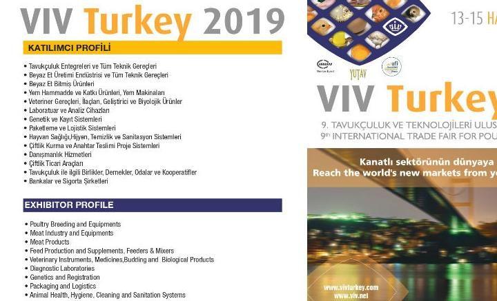 """Poziv Na """"Međunarodni Sajam Peradarstva I Tehnologije U Peradarstvu- VIV Turkey 2019"""""""