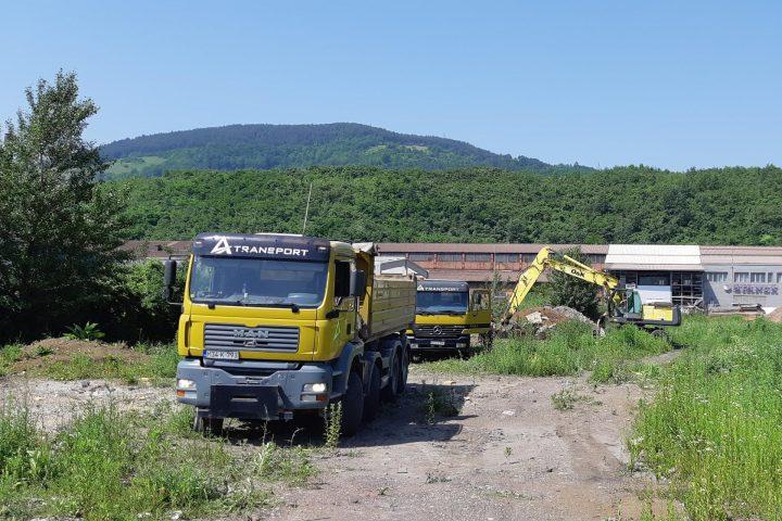 Počeli Radovi Na Izgradnji Saobraćajnica U Poslovnoj Zoni Zenica 1