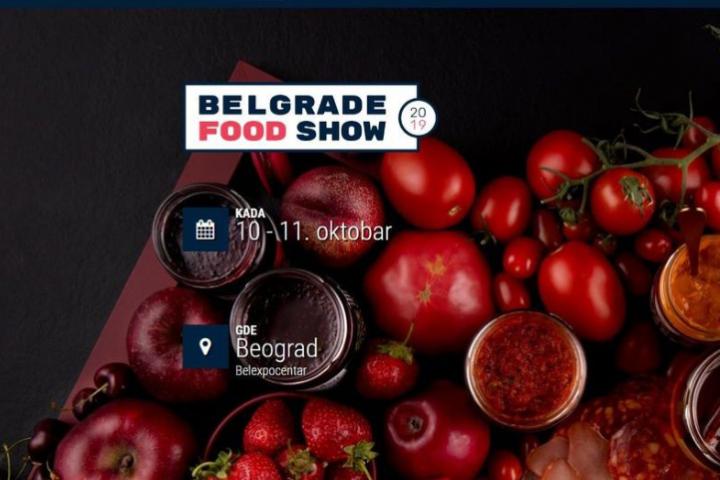"""Poziv Za Učešće Na Sajmu """"Belgrade Food Show 2019"""""""