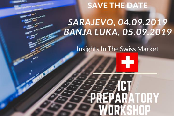 Poziv Bh. Firmama  Za Učešće Na Pripremnoj Radionica Za ICT I MEM B2B Događaj U Švicarskoj