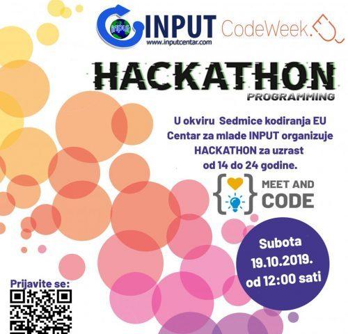 """INPUT: """"Hackathon"""" Za Djecu I Mlade – Prijavite Se!"""