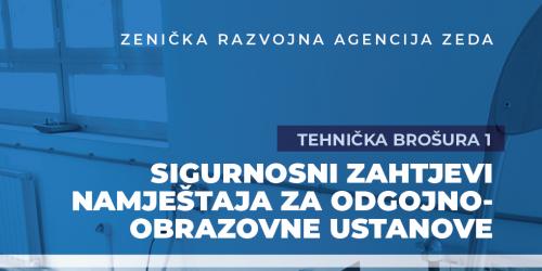 Sigurnosni Zahtjevi Namještaja Za Odgojno-obrazovne Ustanove/BROŠURA