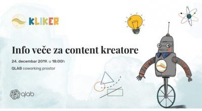 Info Veče Za Content Kreatore
