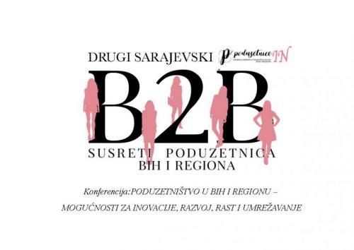 Drugi Sarajevski B2B Susreti Poduzetnica BiH I Regiona