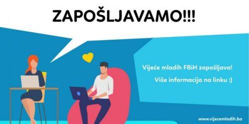 Javni Poziv Za Radno Mjesto U Vijeću Mladih Federacije Bosne I Hercegovine