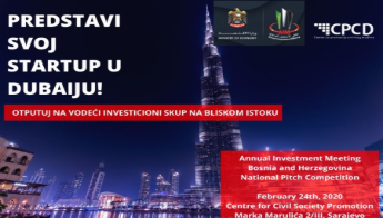 Šansa Za Bh. StartUpe Na Vodećem Investicionom Skupu U Dubaiju AIM 2020