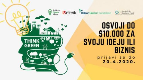 Balkan Green Ideas: Osvojite Do $10.000 Za Svoju Ideju Ili Biznis