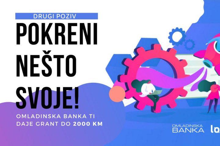 Omladinska Banka Zenica – Prvi Poziv Za Preduzetnike I Preduzetnice 2020