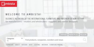 Ambista- Međunarodna Poslovna Mreža Za Sektor Namještaja I Interijera