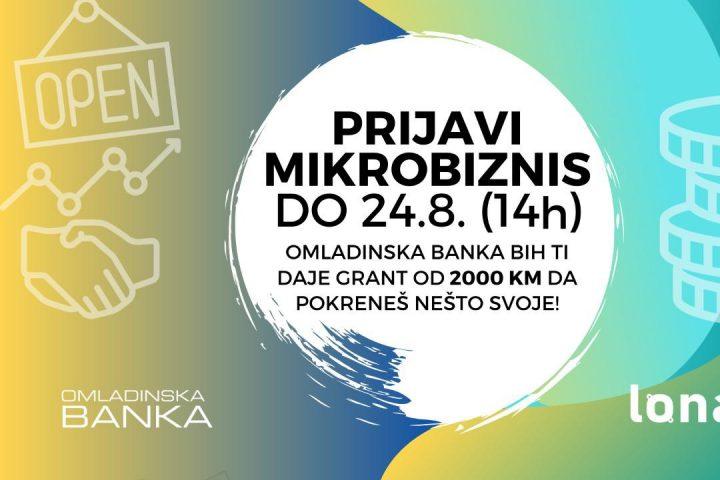Omladinska Banka BiH – Drugi Poziv Za Preduzetnice I Preduzetnike 2020