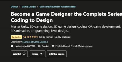 Prijavite Se Za Učešće U Online Kursu; Dizajn Video Igara