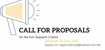BCSDN Objavljuje Poziv Za Podnošenje Prijedloga Za Ad-hoc Grantove Za Podršku
